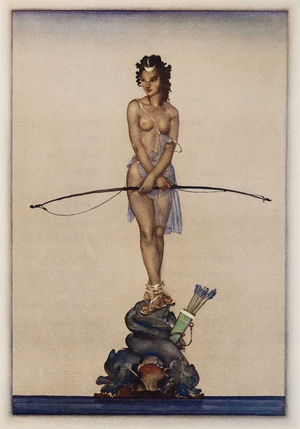 Lot 618 - Flint (Sir William Russell). The Lisping Goddess, 1968
