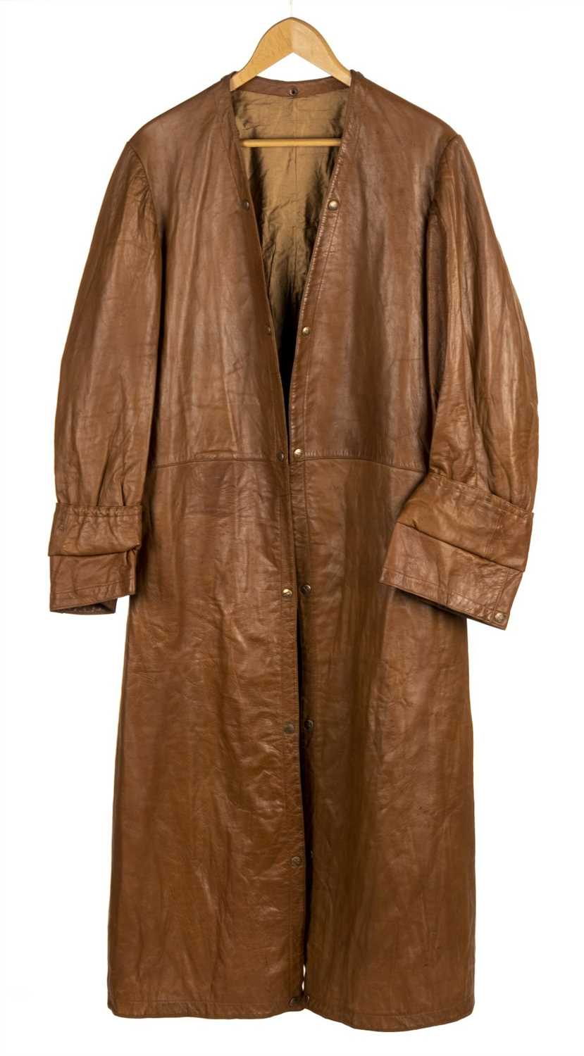 Lot 34 - Brackley (Herbert, 1894-1948). An Interwar leather flying coat worn by Air Commodore Brackley