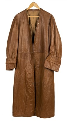 Lot 34-Brackley (Herbert, 1894-1948). An Interwar leather flying coat worn by Air Commodore Brackley