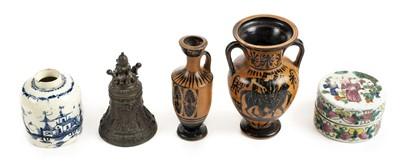 Lot 72 - Greek Vessels. A Greek terracotta ewer, probably Athens, 5th Century BC