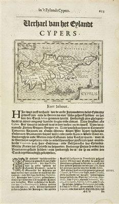 Lot 2-Avity (Pierre d'). Wereld Spiegel, 1st edition in Dutch, Amsterdam, 1621