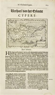 Lot 2 - Avity (Pierre d'). Wereld Spiegel, 1st edition in Dutch, Amsterdam, 1621