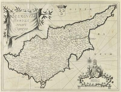 Lot 36-Jauna (Dominique). Histoire de Chypre, de Jerusalem, d'Arménie, et d'Egypte, 1747