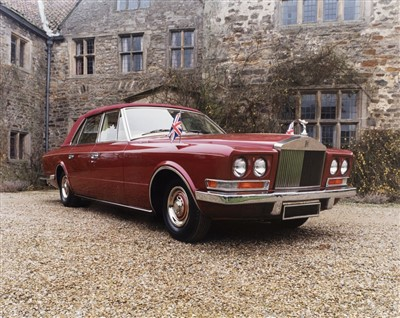 Lot 28-Rolls-Royce. Phantom VI by Frua, Royle Cars news release information pack, 1993