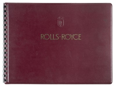 Lot 32-Rolls-Royce. 'The Best Car in the World', Silver Cloud & Silver Wraith sales brochure, circa 1955-58