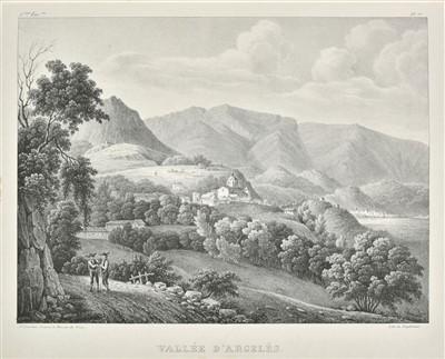 Lot 38-Jourdan (J.). Vues prises dans les Pyrenées françaises, 1st edition, 1829