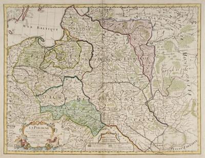 Lot 86 - Poland. De L'Isle (Guillaume), La Pologne..., Paris, 1763