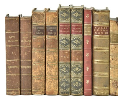 Lot 35-Hursthouse (Charles Hursthouse). New Zealand, 1st edition, 1857, & other New Zealand-related