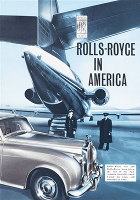 Lot 26-Rolls-Royce. In America, advertising brochure, 1960