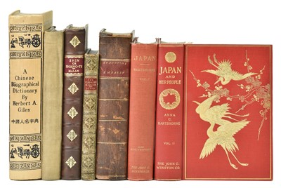 Lot 31 - Hartshorne (Anna). Japan and her People, 1st edition, 1902, & others