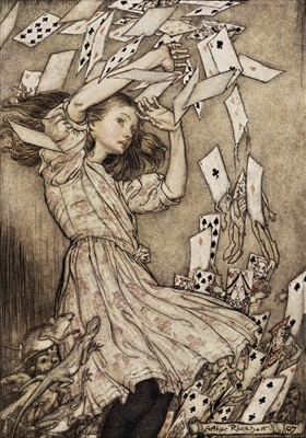 Lot 651 - Rackham (Arthur). Alice's Adventures in Wonderland, 1907