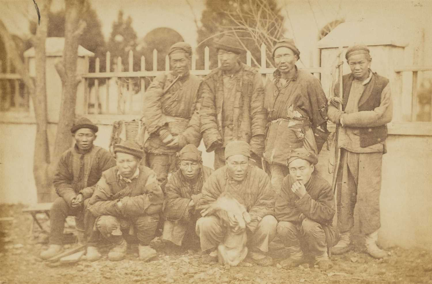 50 - China. Far East Magazine, 1876, a group of 17 photographs by William Saunders