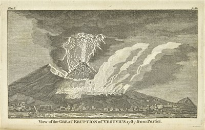 Lot 28-Hamilton (Sir William). Observations on Mount Vesuvius... new edition, 1774