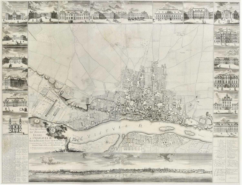 153 - Warsaw. De Tirregaille (Pierre), 1762