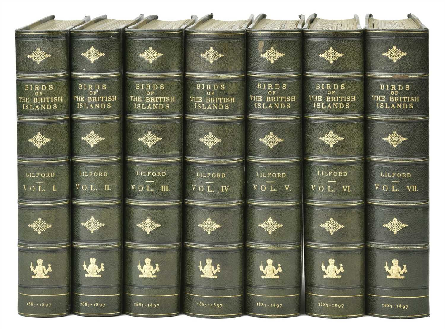 Lot 106-Lilford (Thomas). Coloured Figures of the Birds of the British Islands, 7 volumes, 1885-97
