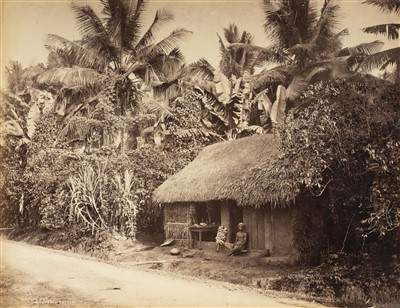 Lot 30-India. A group of approximately 70 mostly albumen print views of India, c. 1860s/1890s