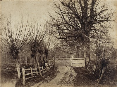 Lot 1-Turner (Benjamin Brecknell, 1815-1894). The Willowsway, 1852-54