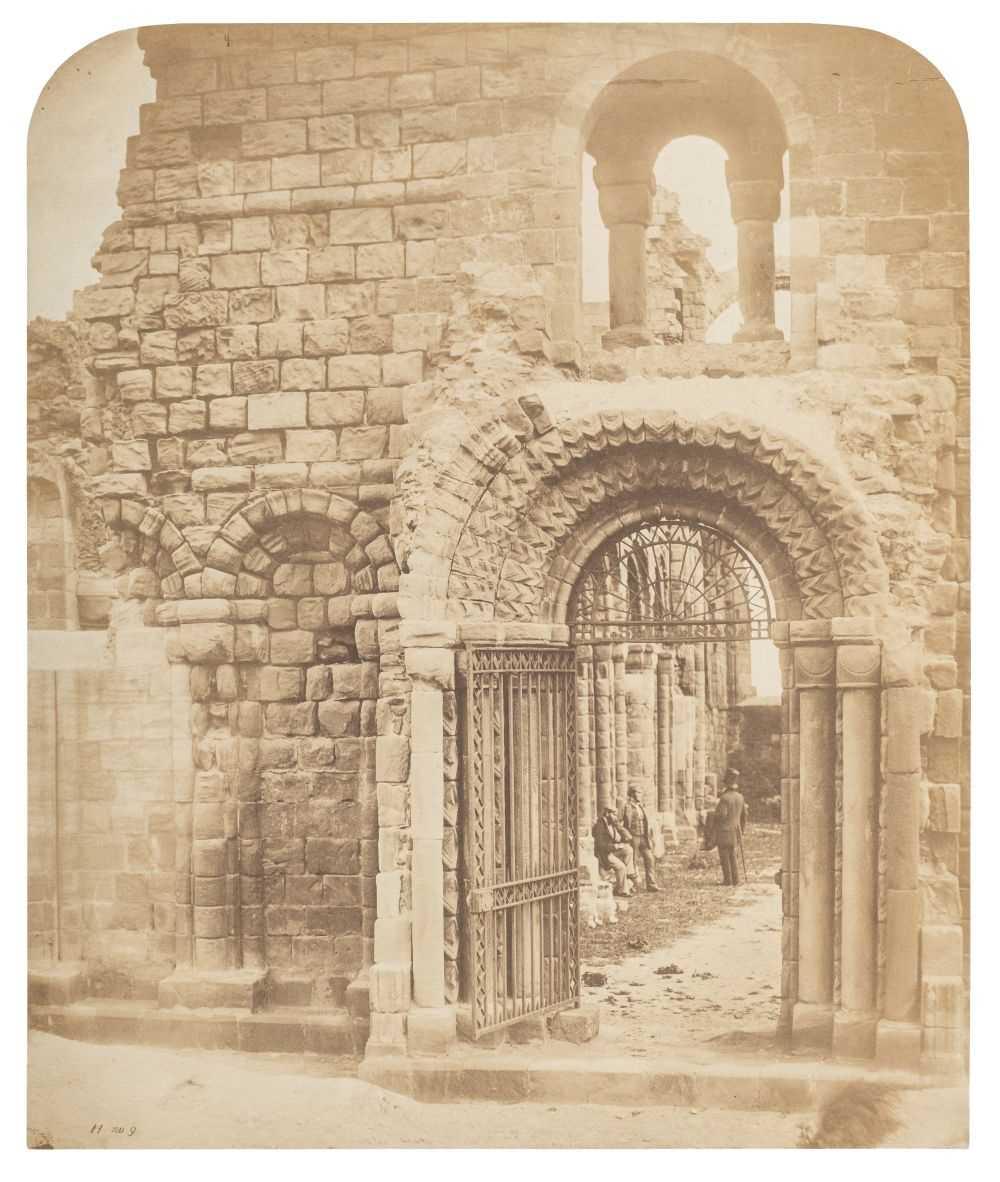 Lot 8-Fenton (Roger, 1819-1869). Lindisfarne Priory, 1856