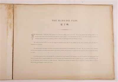 Lot 38-Thomson (John). Views on the North River, 1st edition, Hongkong: Noronha & Sons, Printers, 1870