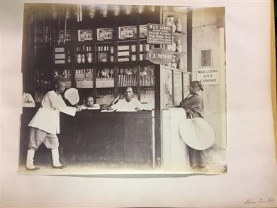 Lot 39-Thomson (John, 1837-1921). An album of photographs of Hong Kong, c. 1868-1870