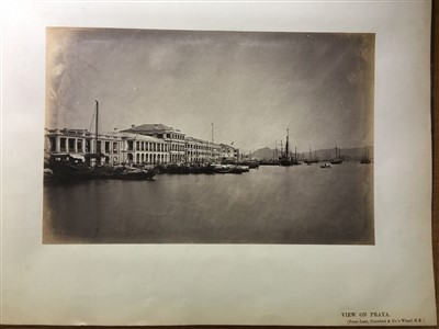 Lot 40-Floyd (William Pryor). An album of photographs of Hong Kong and Canton, c. 1868-1870s