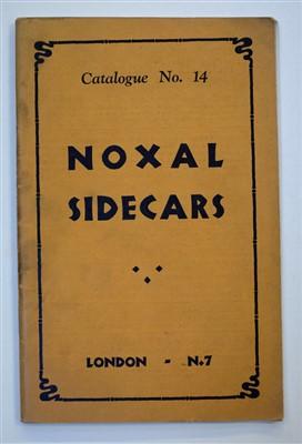 Lot 22 - Noxal Sidecars.