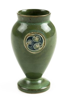 Lot 74 - Moorcroft. A Moorcroft Flammian Ware miniature vase