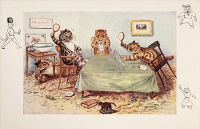 Lot 660 - Wain (Louis, illustrator). Ping-Pong, Told by Clifton Bingham, Raphael Tuck, [1903]