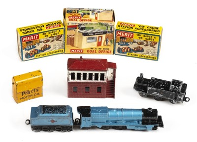"Lot 4-Model rail. A Lone Star ""Locos"" train set"