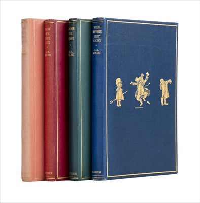 Lot 633 - Milne (A. A.). When We Were Very Young, 2nd edition, 1924, & others