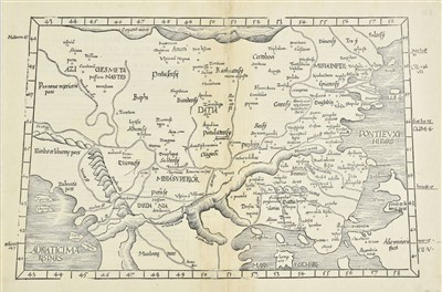 Lot 46-Europe. A mixed collection of eighteen maps, mostly 16th - 19th century