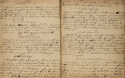Lot 360 - Cookery. A manuscript receipt book, dated 1730 and 1733