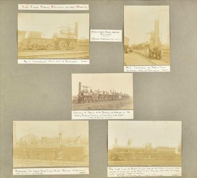 Lot 412 - Railway photographs. Railway Centenary 1825-1925 photograph album