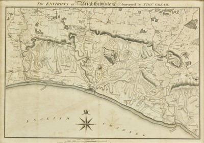 Lot 15-Brighton. Foot (T.), The Environs of Brightelmstone..., 1794