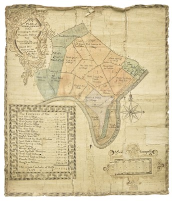 Lot 43-Estate Plan, Plan of Woodhouse, 1767