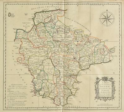 Lot 21 - Devon. Donn (Benjamin), A Map of the County of Devon, 1765