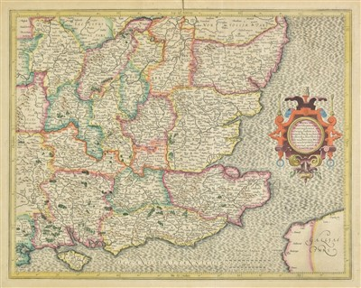 Lot 39-England & Wales. A mixed collection of forty-four maps, 17th - 19th century