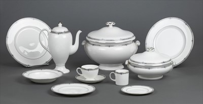 Lot 1-Wedgwood. A part Wedgwood 'Amherst' pattern dinner service