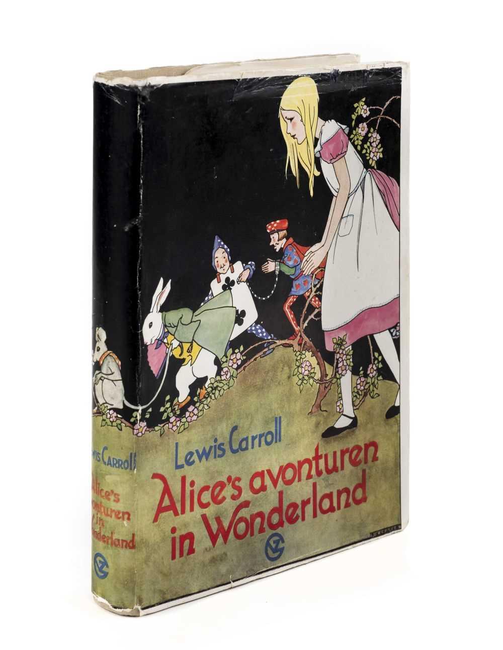 Lot 603 - Cramer (Rie, illustrator). Alice's Avonturen in Wonderland, by Lewis Carroll, [1934]