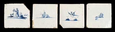 Lot 70 - Delft. A collection of Delft tiles, 18th century