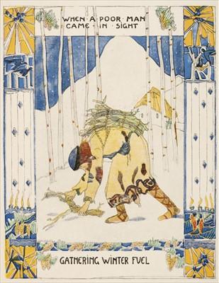 Lot 626 - King (Jessie M., illustrator). A Carol, Good King Wenceslas, [London: The Studio, 1919]