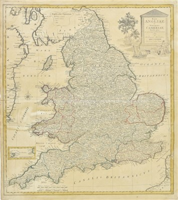 Lot 38-England & Wales. A collection of of thirteen maps, 18th & 19th century