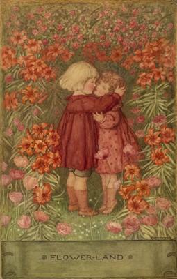 Lot 663 - Bauerle (Amelia M., 1873-1916). Flower-Land
