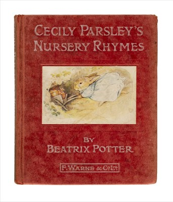 Lot 644 - Potter (Beatrix). Cecily Parsley's Nursery Rhymes, 1st edition, [1922]
