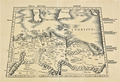 Lot 1-Africa. A collection of eighteen maps, 16th - 19th century