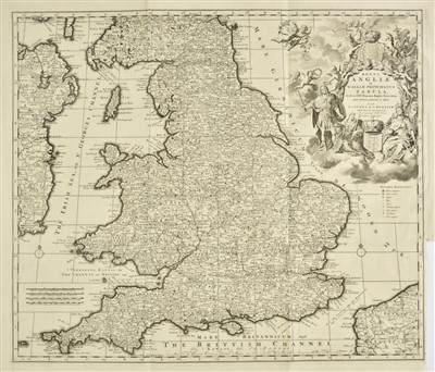 Lot 21-British Isles. A collection of ten maps, mostly 18th & 19th century