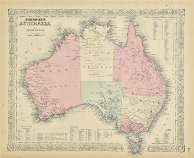 Lot 2-Australasia. A mixed collection of twenty maps, 18th & 19th century