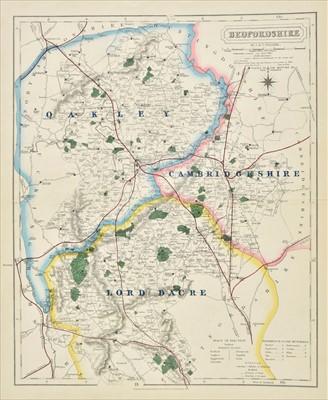 Lot 84 - Walker (J & C). Twenty 'Fox Hunting' maps, circa 1870