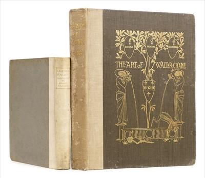 Lot 422 - Clarke (Harry, illustrator). Faust by Goethe, 1925, & Konody, The Art of Walter Crane, 1902