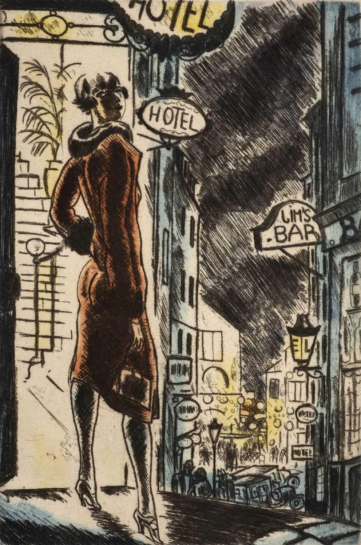 Lot 605 - Dignimont (Andre, illustrator). Francis Carco, Nuits de Paris, 1927